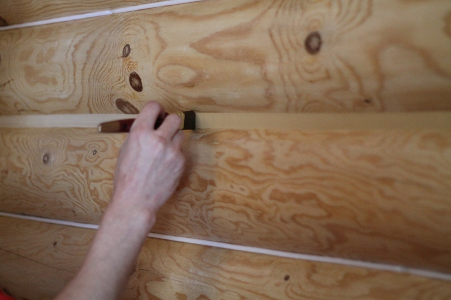 Деревянный дом утепление швов